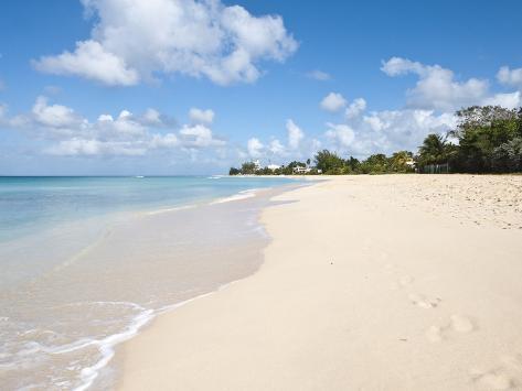 Brighton Beach, Barbados, Windward Islands, West Indies, Caribbean, Central America Photographic Print