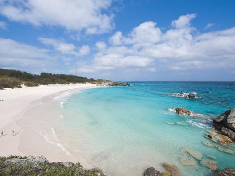 Horseshoe Bay Beach, Bermuda, Central America Photographic Print