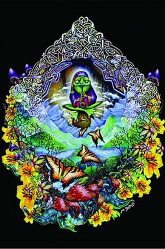 Michael DuBois (Musical Frog) Art Poster Print Poster