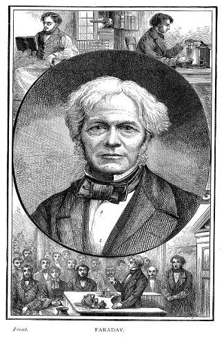 Michael Faraday, British Physicist and Chemist, 1881 Giclee Print