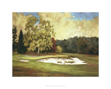 After the Rain at Merion Premium Giclee Print
