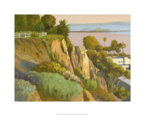 The Bluffs, Santa Monica, California Premium Giclee Print