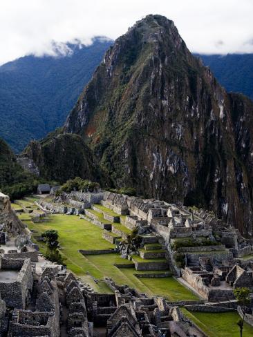 Machu Picchu, an Archaeological Site in Peru Photographic Print