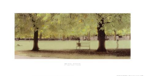 Parque de St. James, Londres Lámina