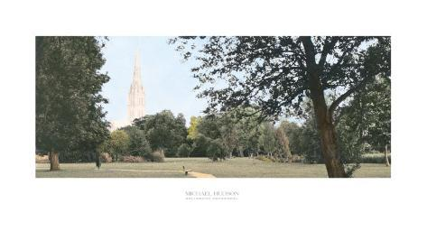 Salisbury Cathedral Art Print