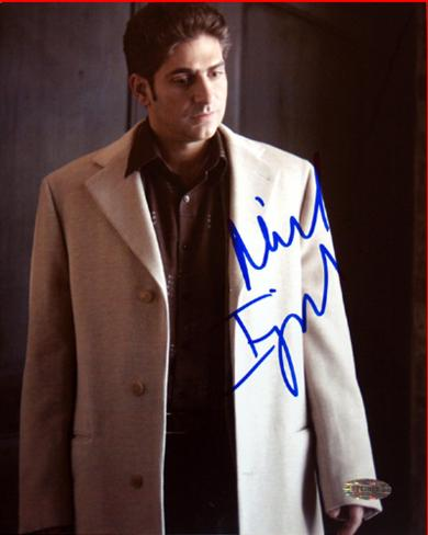 Michael Imperioli Tan Jacket Autographed Photo (Hand Signed Collectable) Foto