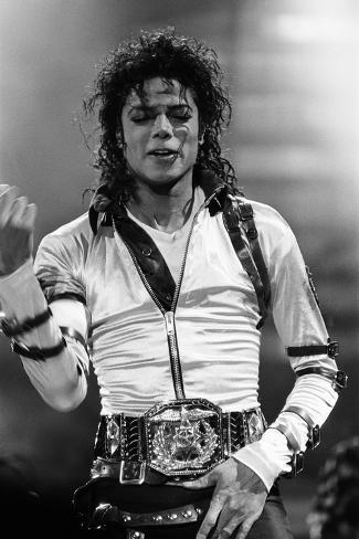 Michael Jackson 1988 Photographic Print