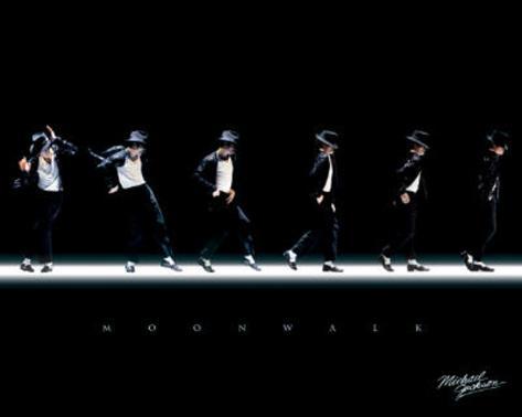 Michael Jackson - Moonwalk, Music Poster Print Mini Poster