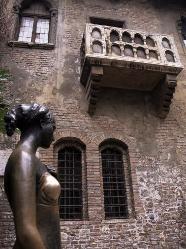 Sculpture of Juliet, Verona, Veneto, Italy Photographic Print
