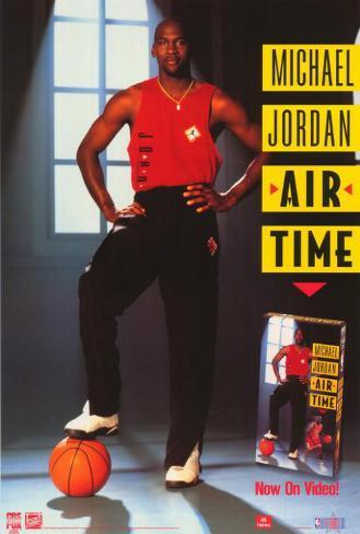 Michael Jordan: Air Time Poster