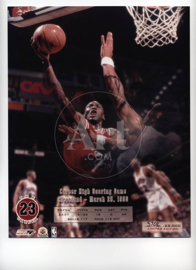 Michael Jordan - Career High Scoring Game (Limited Edition)