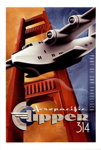 Clipper 314 Art Print