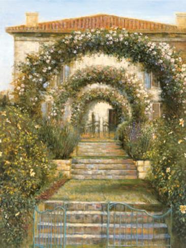Gateway to the Garden Art Print