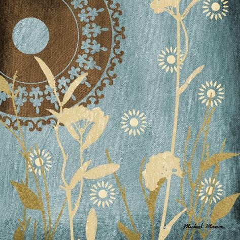 Botanical Silhouettes I Art Print