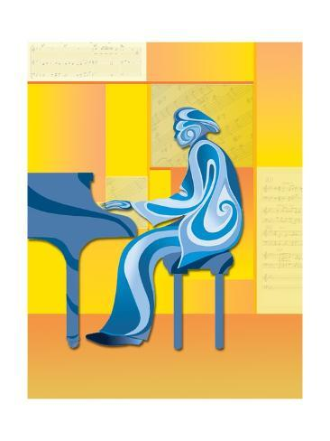 Blues People Giclee Print