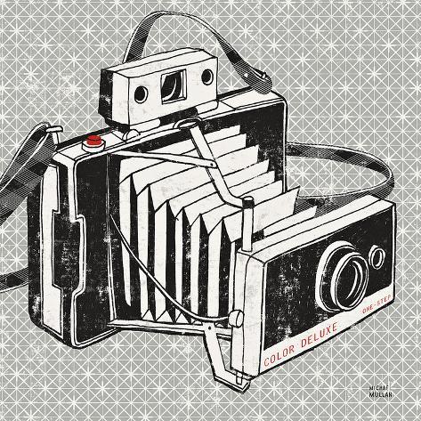 Vintage Analog Camera Art Print