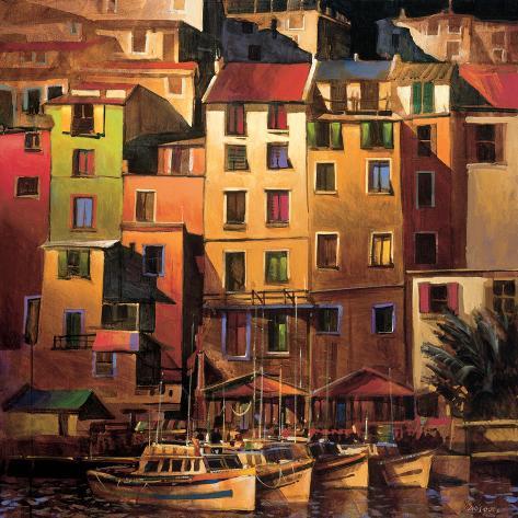 Mediterranean Gold Premium Giclee Print