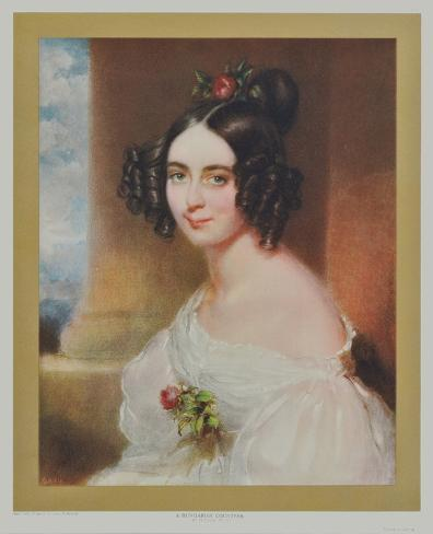 Portrait : A Hungarian Countess Collectable Print