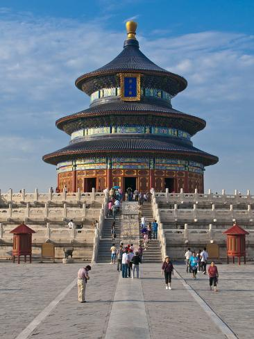 The Temple of Heaven, Bejing, China, Asia Photographic Print