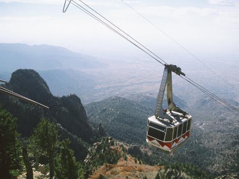 Sandia Peak Tramway, Albuquerque, New Mexico, USA Photographic Print