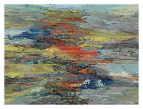 Formations II Giclee Print