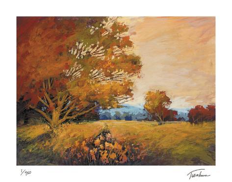 Sunset Path Giclee Print
