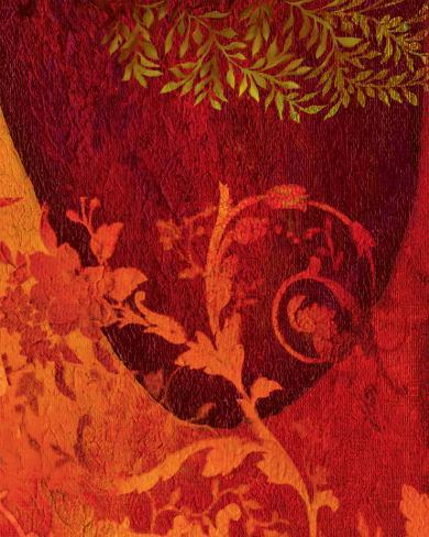 Georgia Cochineal I Stretched Canvas Print