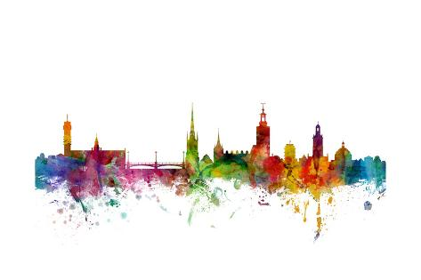 stockholm sweden skyline posters by michael tompsett at allposters com