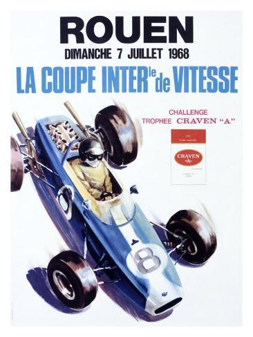 Rouen, 1968 Giclee Print