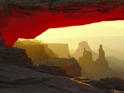 Mesa Arch, Canyonlands National Park, Utah, USA Stampa fotografica
