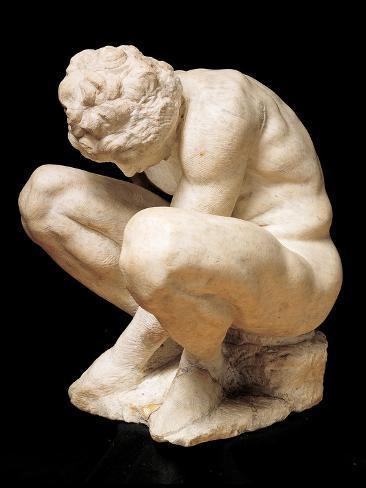 Crouching Boy Fotografía