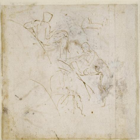 Figure Study, C.1511 Lámina giclée