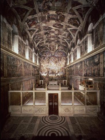 Sistine Chapel Giclee Print