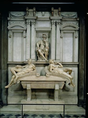 Tomb of Lorenzo de Medici Lámina giclée