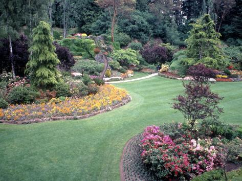 Butchart gardens victoria bc canada photographic print by michele butchart gardens victoria bc canada thecheapjerseys Image collections