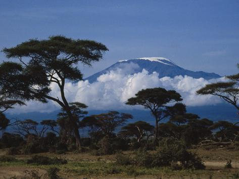 Kenya, Mount Kilimanjaro Photographic Print