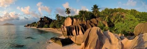 Anse Source d'Argent Beach, La Digue Island, Seychelles Photographic Print