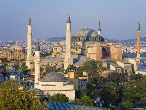 Aya Sofia, Sultanhamet, Istanbul, Turkey Photographic Print