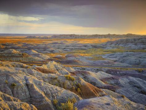 Badlands National Park, South Dakota, USA Photographic Print