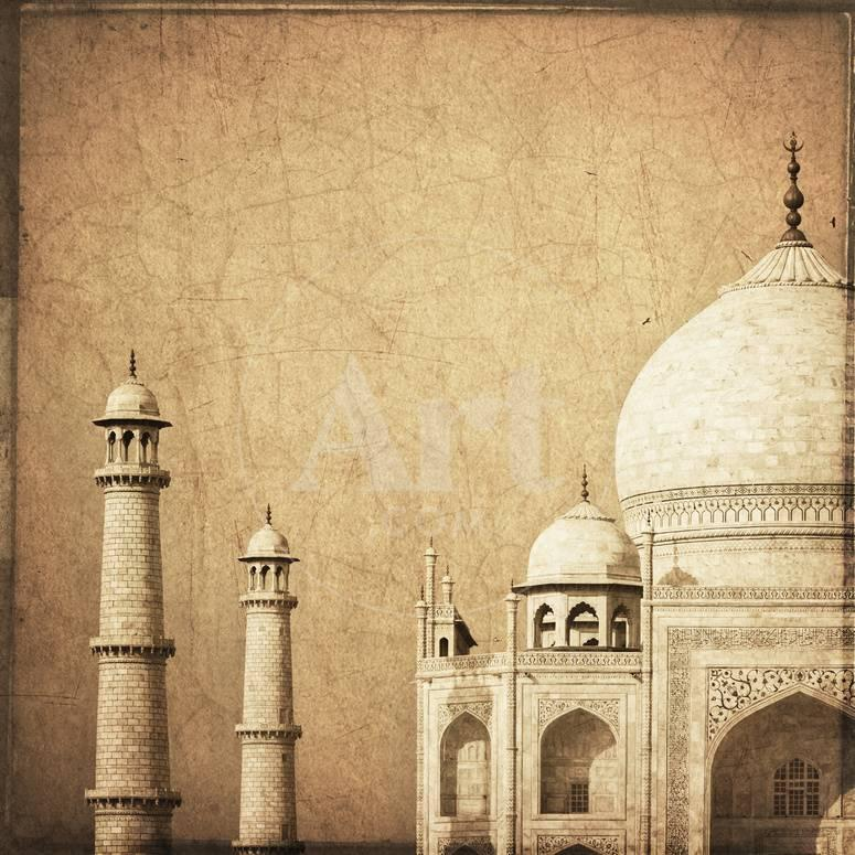 India, Uttar Pradesh, Agra, Taj Mahal (UNESCO Site) Photographic ...