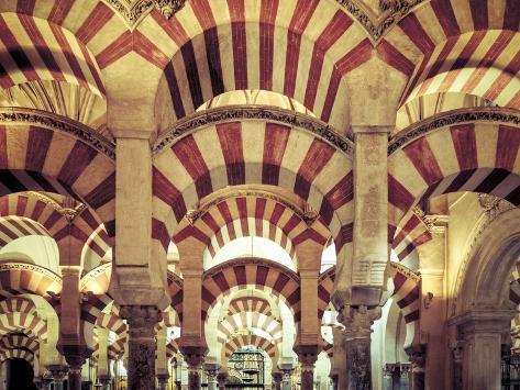 Spain, Andalucia, Cordoba, Mezquita Catedral (Mosque - Cathedral) (UNESCO Site) Photographic Print