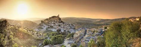 Spain, Andalucia, Granada Province, Montefrio Village Photographic Print