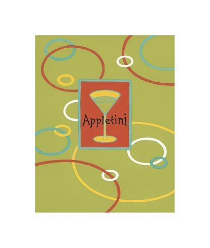 Appletini Giclee Print