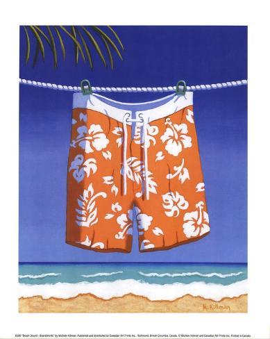 Beach Bound - Boardshorts Stampa artistica