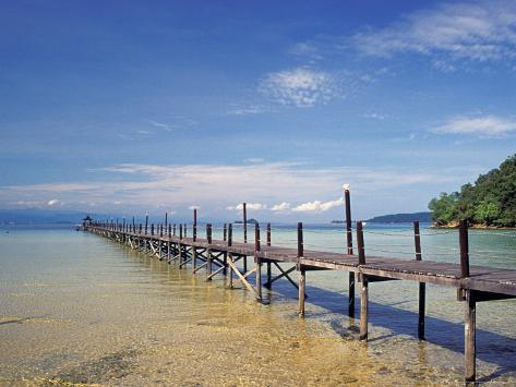 Tunka Abdul Rahman National Park, Borneo, Malaysia Photographic Print