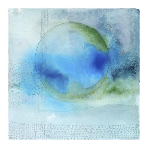 Aqua Sphere Giclee Print