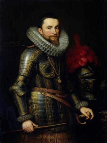Portrait of Ambrogio Spinola Art Print