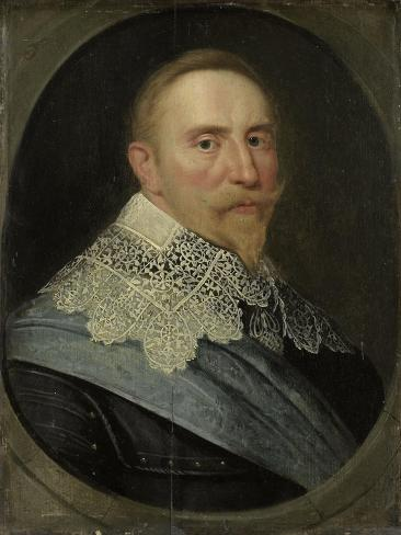Portrait of Gustav II Adolf, King of Sweden Art Print