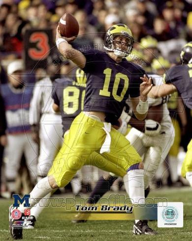 Michigan Wolverines - Tom Brady Photo Photo