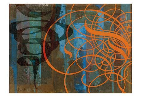 Wind Up Art Print